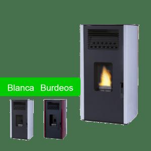 Estufa de pellet Bilbao