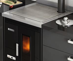 Estufa pellet ponferrada acero