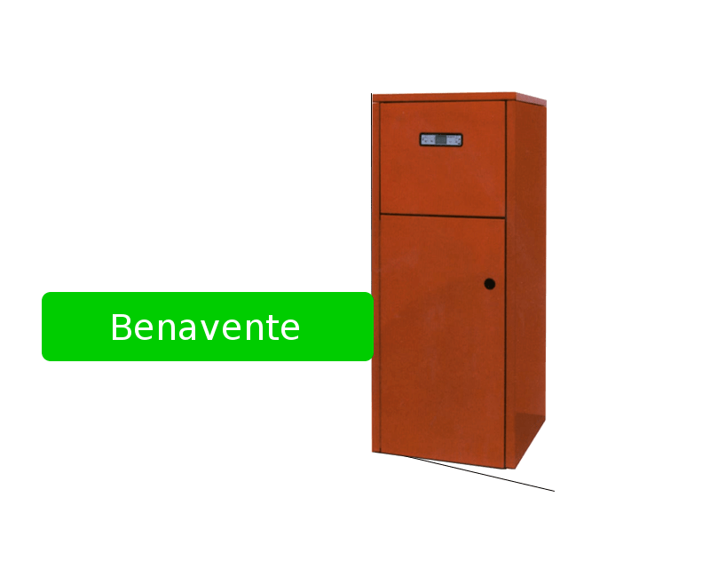 Caldera de pellet Benavente