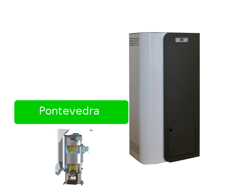 Estufa pellet Pontevedra